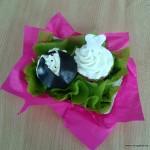 bruidspaar cupcakes workshop vrijgezellen
