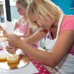 workshop bruidstaart versieren taart