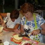 workshop cake decoratie beginners botercreme bloemen