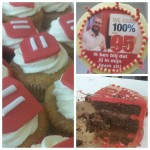 belfius cupcakes taart logo