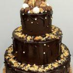 chocolade drip cake wedding cake huwelijkstaart ganache bestellen geel olen herentals westerlo turnhout kempen mol retie dessel balen kasterlee
